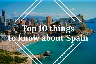 Top 10 things to know before traveling to Spain