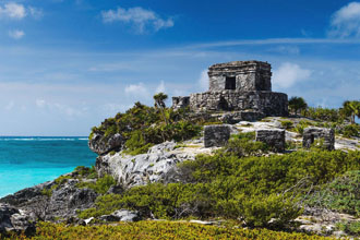 fortress of tulum, mexico