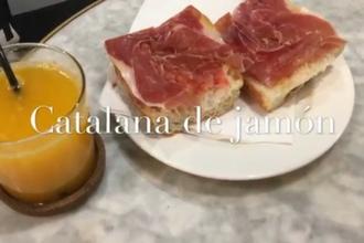 Catalana de jamon