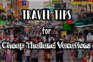 Travel Tips Thailand