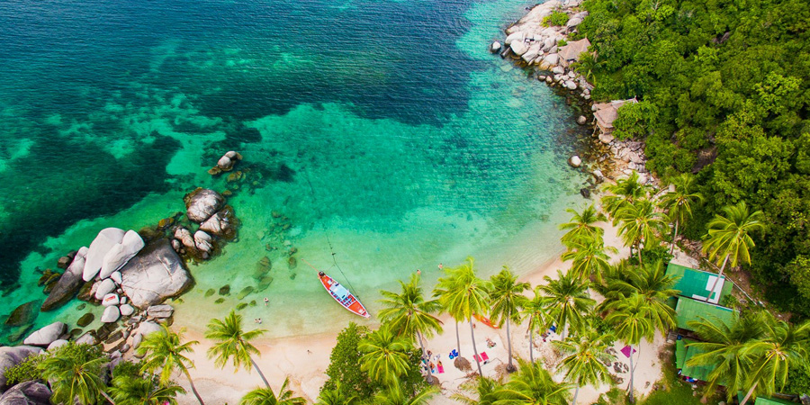 best beaches in koh tao