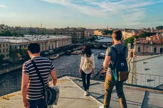 rooftop walk in st petersburg