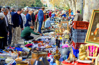 flea market el rastro in madrid