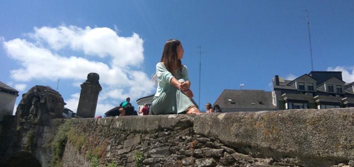 roman walls in lugo, galicia