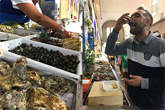 mercado de abastos, santiago de compostela